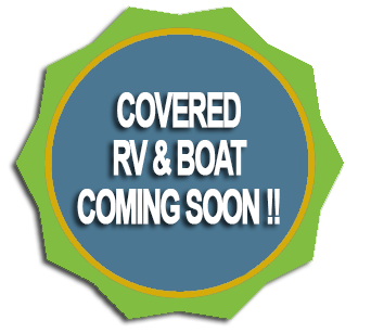 RV, BOAT, PARKING COMING SOON
